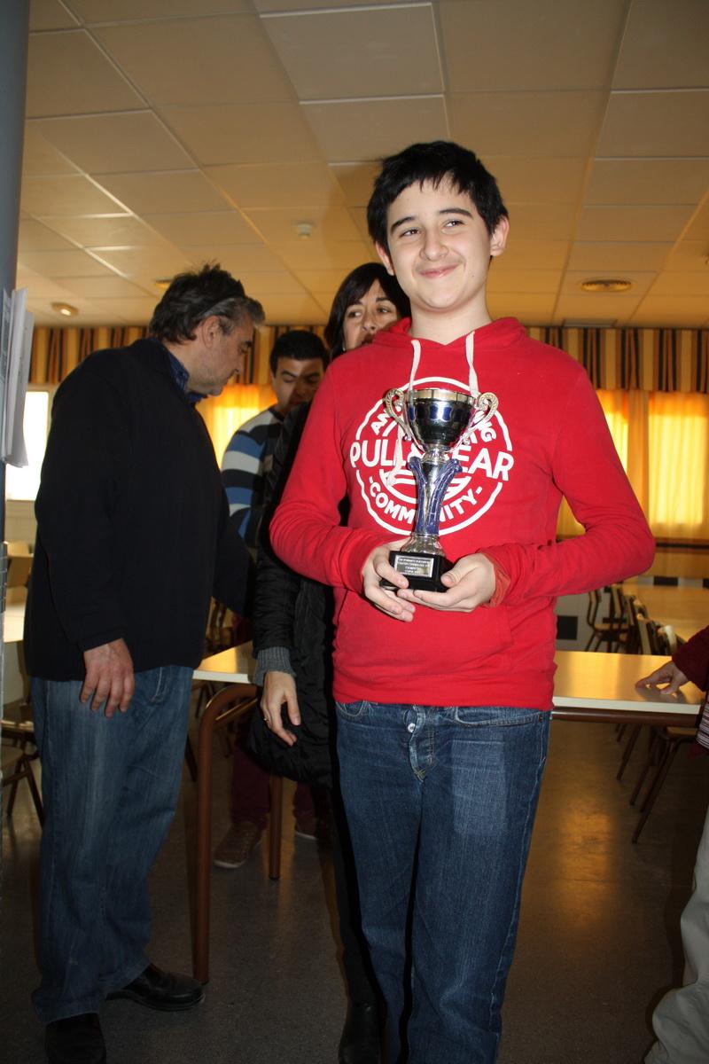Francisco José Llamas y Joaquín Francisco Martí vencen en el IV Torneo de Ajedrez Colegio Ciudad del Sol