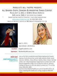 Argentine Tango Dance Contest and Belly Dancers