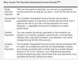immediate guardian annuity
