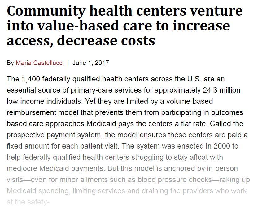 value based care