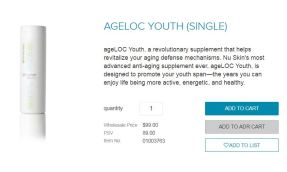 ageloc youth 99