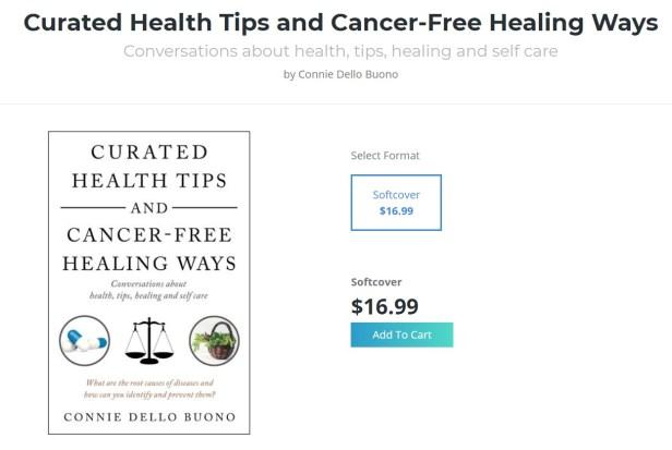 balboa cancer book of connie dello buono