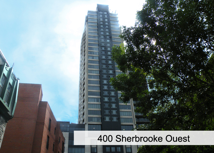 400 Sherbrooke Ouest Condos Appartements