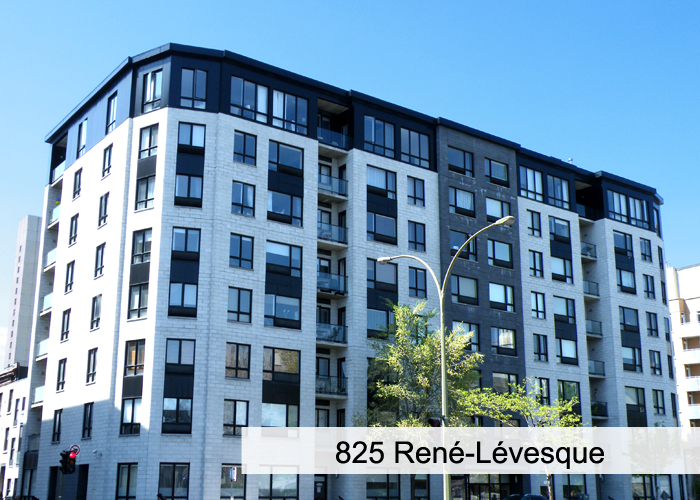 825 René-Lévesque Condos Appartements