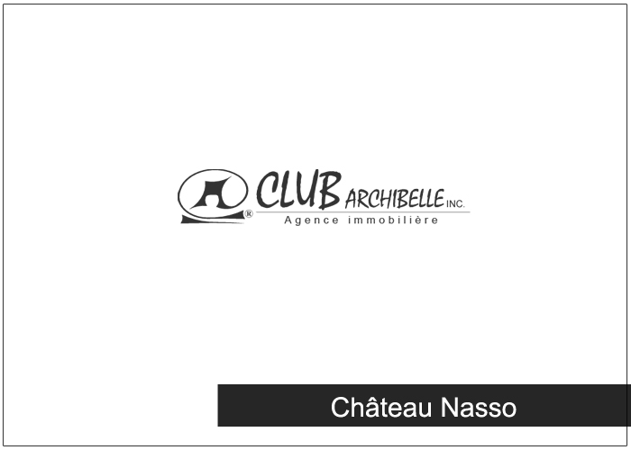 Château Nasso Condos Appartements