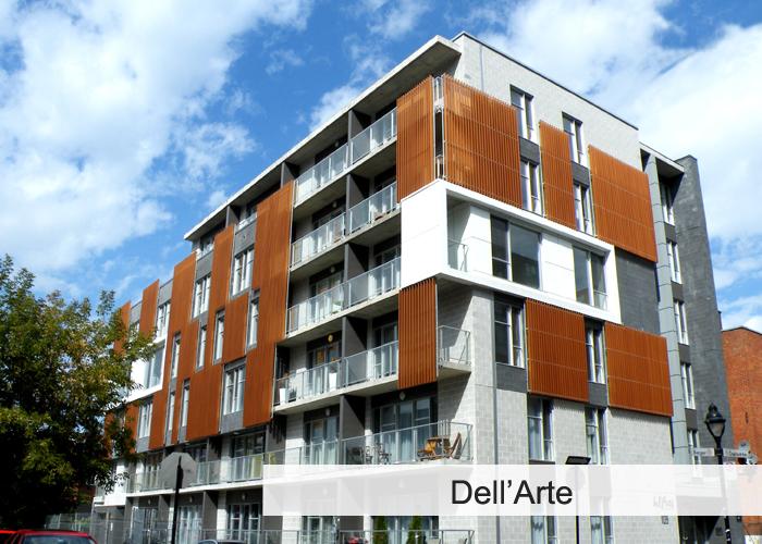 Dell'Arte 1 et 2 Condos Appartements