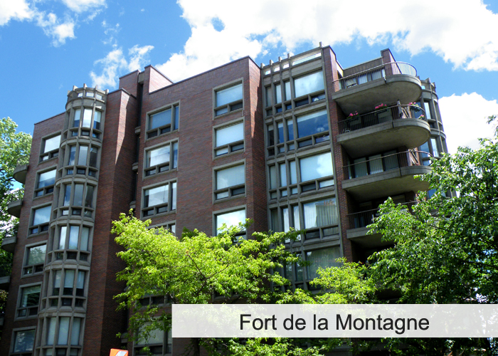 Fort de la Montagne Condos Appartements