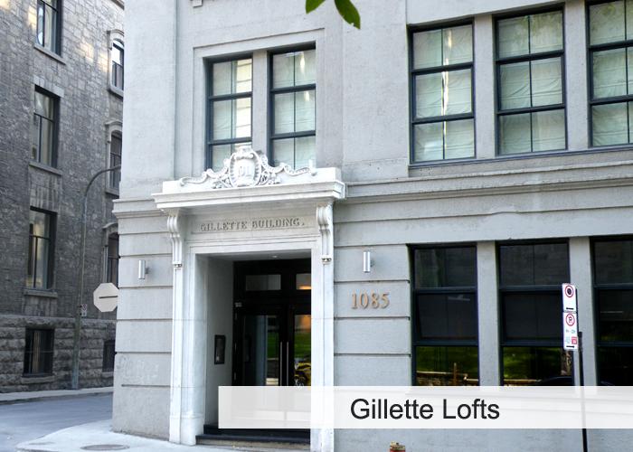Gillette Lofts Condos Appartements