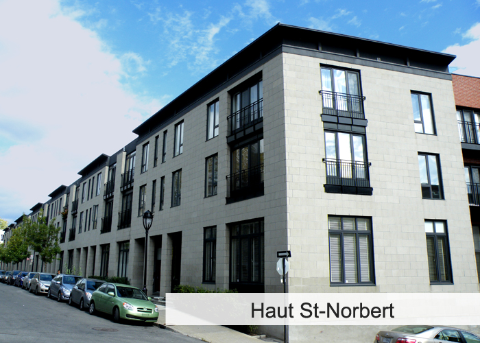 Haut St-Norbert Condos Appartements