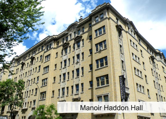Manoir Haddon Hall Condos Appartements