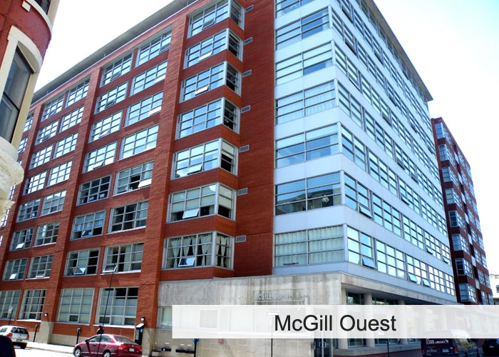 McGill Ouest Condos Appartements