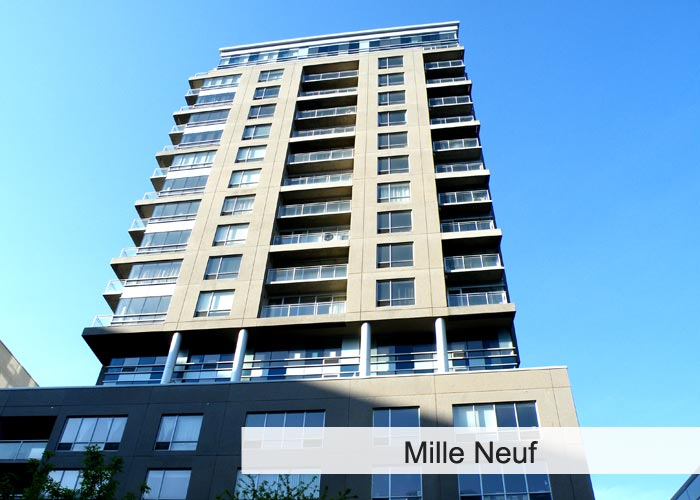 Mille Neuf Condos Appartements