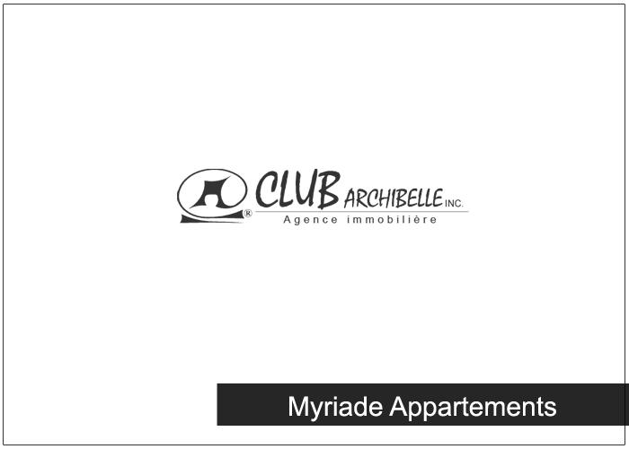 Myriade Appartements Condos Appartements