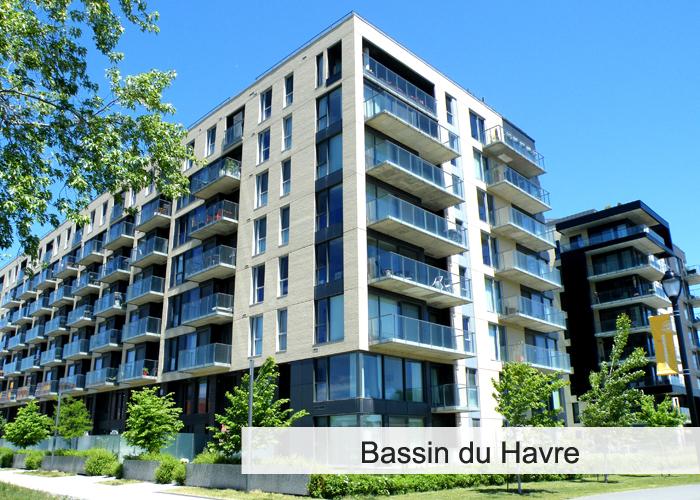 Bassin du Havre Condos Appartements