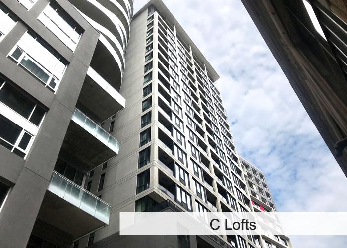 C Lofts Condos Appartements