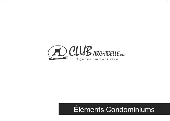 Éléments Condominiums Condos Appartements