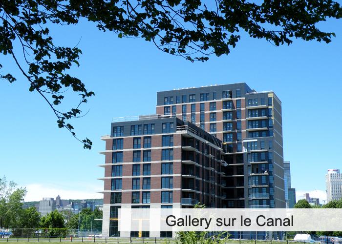Gallery sur le Canal Condos Appartements