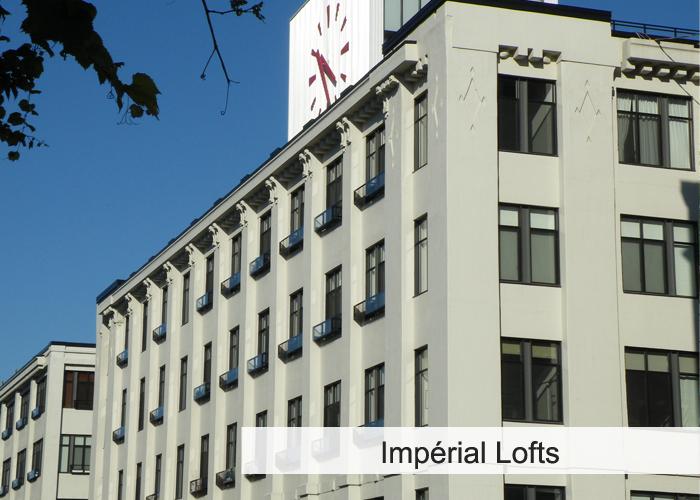 Impérial Lofts Condos Appartements
