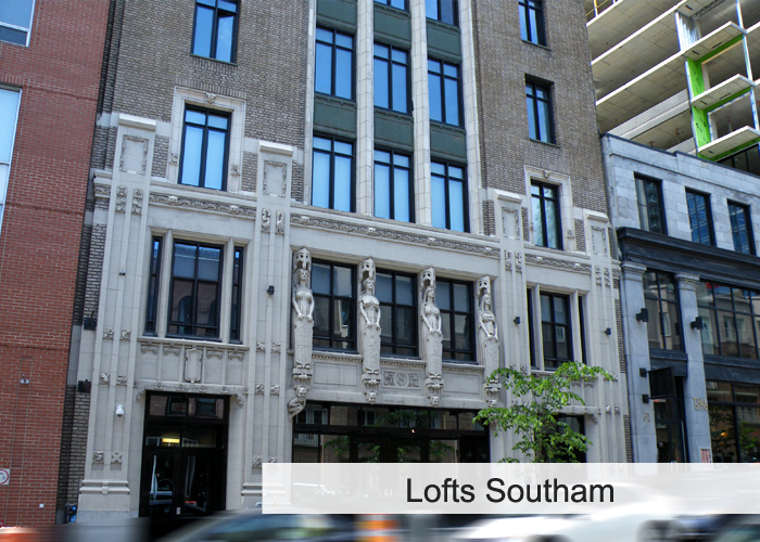 Lofts Southam Condos Appartements
