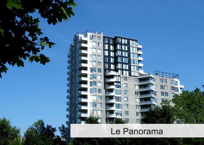 Le Panorama Condos Appartements