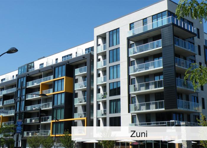 Le Zuni Condos Appartements
