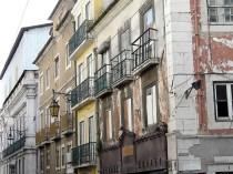 Häuser in Lissabon