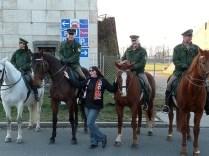 Vier Pferde und Diana