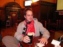 Das nächste Bier folgte im Pub