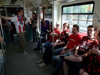 Weiter geht es mit der S-Bahn
