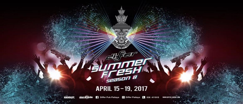 Differ Pub Pattaya - Summer Fresh Songkran 2017, Pattaya, Party, Event
