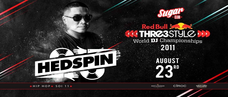 Sugar Club Bangkok Presents DJ Hedspin, Thailand, Party