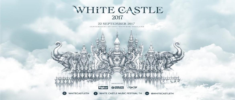 White Castle Music Festival , Bangkok, DJ, Music Festival, White Party, Thailand