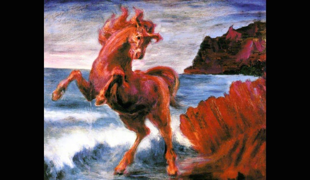 Aligi Sassu Cavallo Rosso