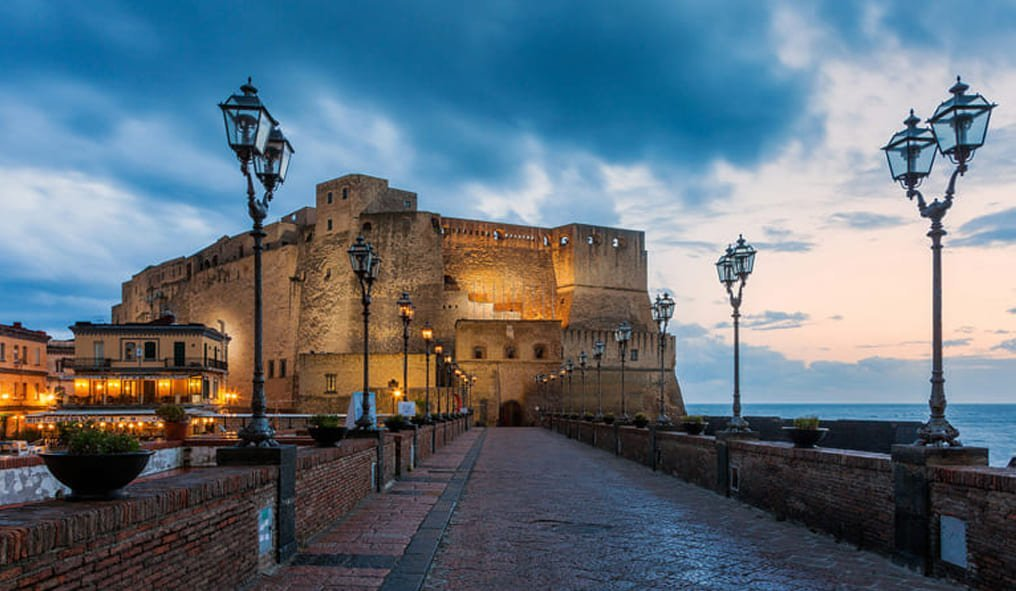 The Napoletano Horse and Naples Castel Dell'Ovo
