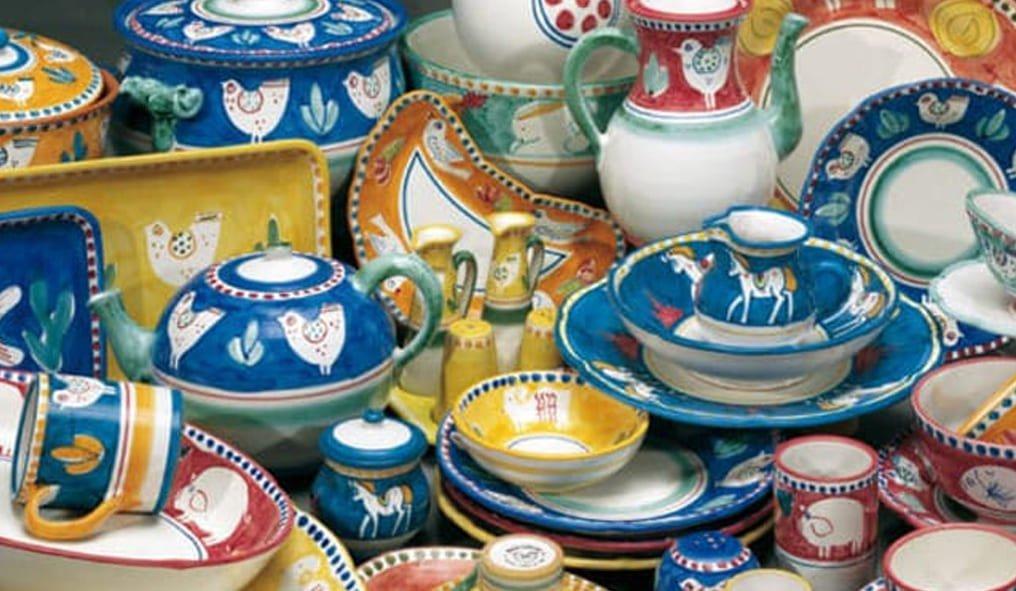 Vietri ceramics