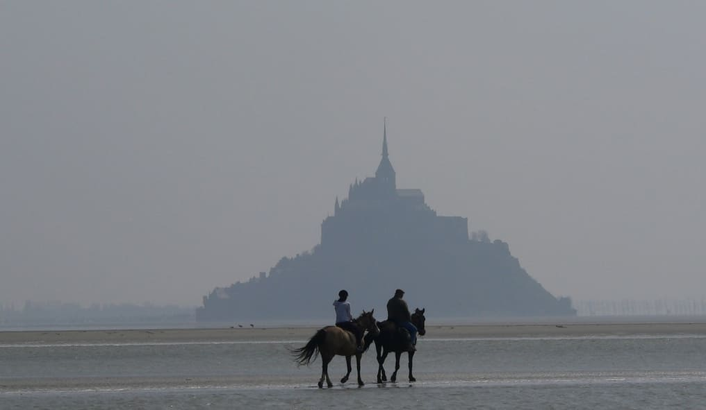 On Horseback in Normandy