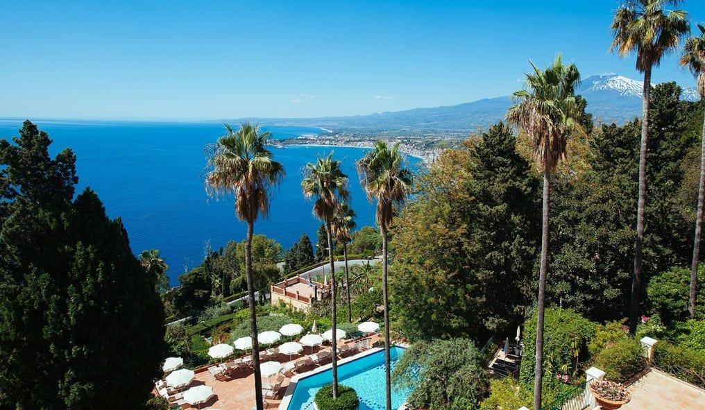 Hotel Villa belvedere a Taormina