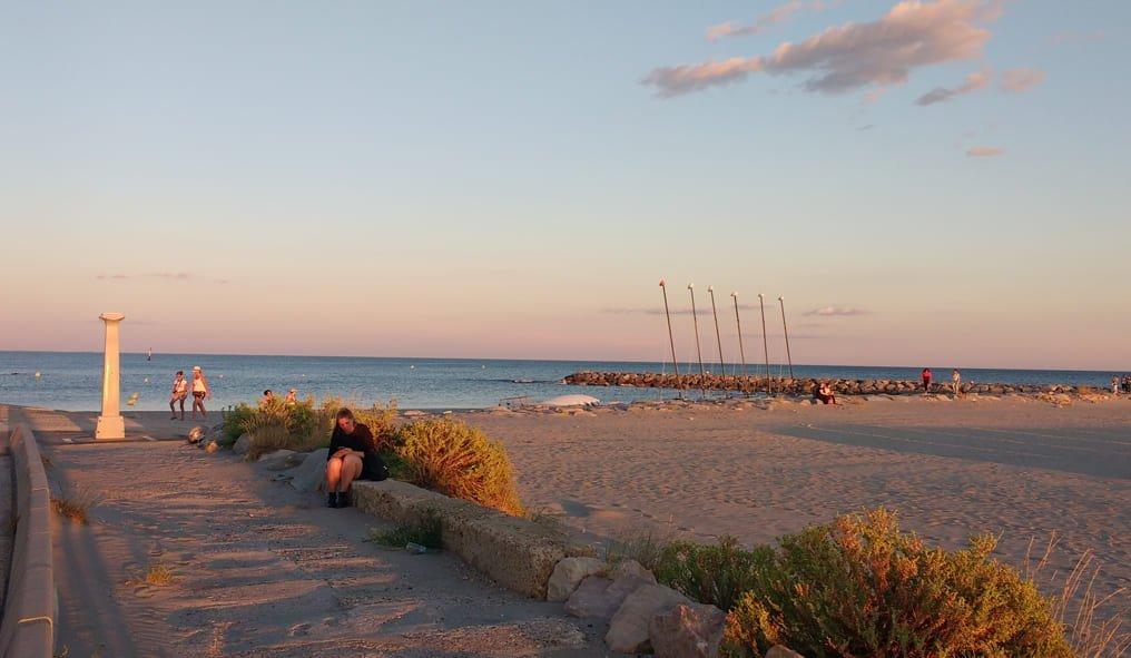 The Camargue beach