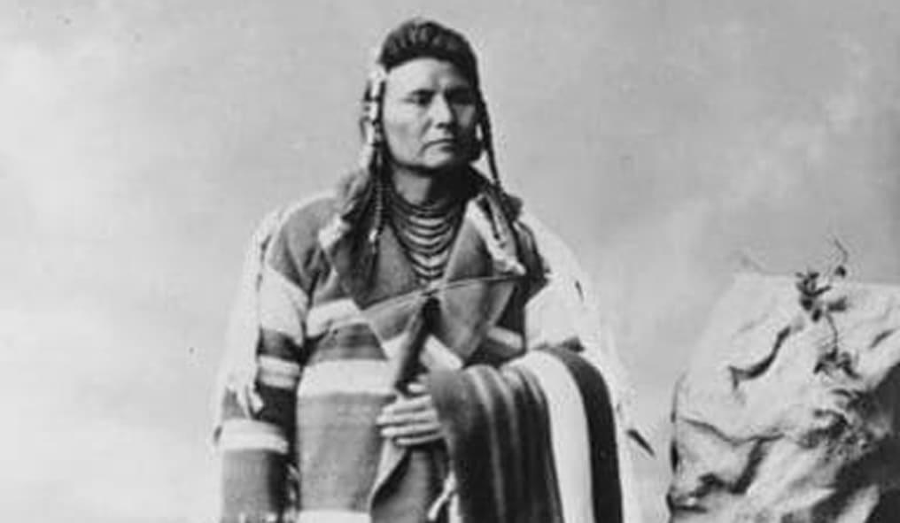Il capo della Tribù Naz Percè