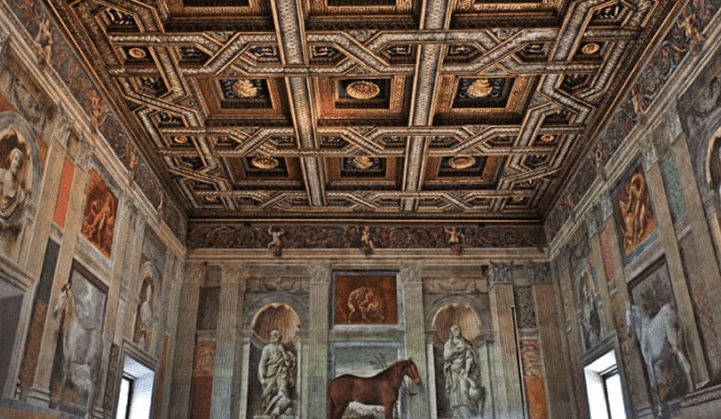 Hall of Horses ceiling