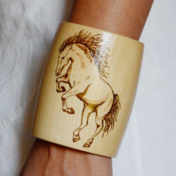 Wild Horse Bracelet 10 Wear