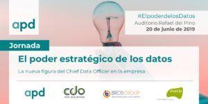 El Club Chief Data Officers Spain y la APD celebran una jornada el jueves 20 de junio