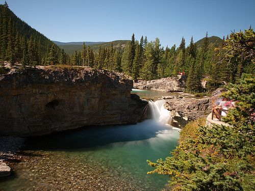 Elbow Falls - Kananaskis Country - Alberta Canada, por Calgary Reviews