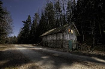 Svartedalen House at Night #photog (EXPLORED), por mescon