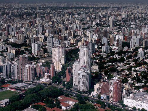 Aerial view of Buenos Aires, por Martin Terber