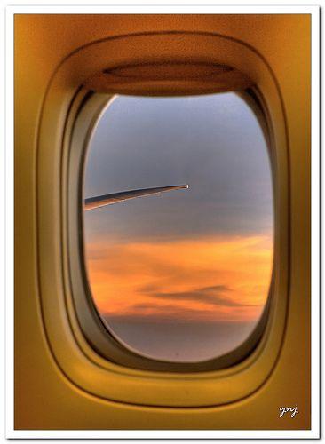 Sunset @ 12 thousand feet, por Yogendra174