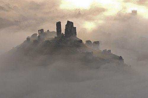 Corfe Castle, por davidbunting