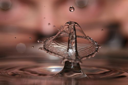 When Water Drops Collide, por laszlo-photo
