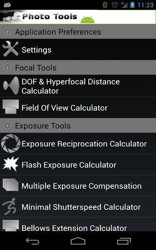 Photo Tools aplicaciones fotografía andriod