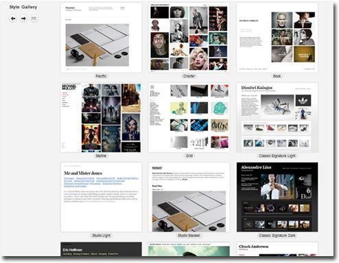 Portfolio web Krop